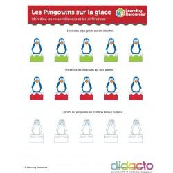 Activités pour les Pingouins sur Glace - Fiche pédagogique