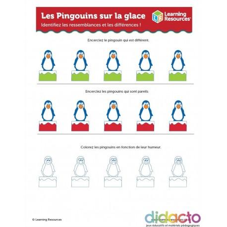 Activités pour les Pingouins sur Glace - Fiche pédagogiquz