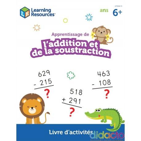 Apprentissage additions et soustractions - Fiche pédagogique