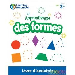 Apprentissage des formes et couleurs (3+) - Fiche pédagogique