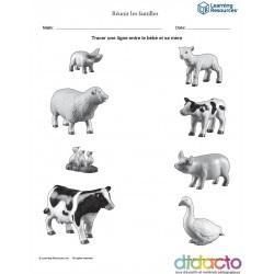 Les animaux et leurs petits - Fiche pédagogique