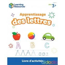 Apprentissage des lettres (3+) - Fiche pédagogique