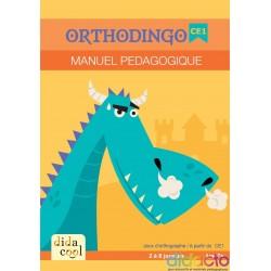 OrthoDingo CE1 - Manuel pédagogique