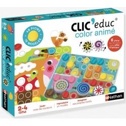 Clic'educ color animé