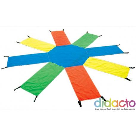 Jeu du Parachute Octogonal