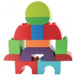 Briques junior à assembler - 104 pcs