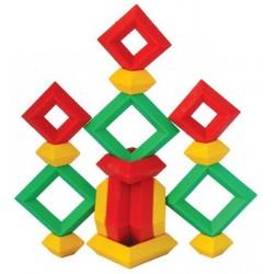 Pyramides à construire - 50 pièces