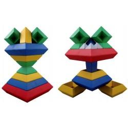 Pyramides à construire XL - 30 pièces