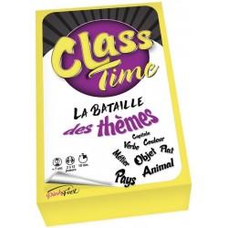Class Time, la bataille des thèmes