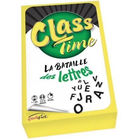 Class Time, la bataille des lettres