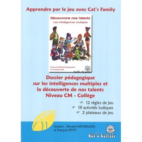 Découvrons nos talents - Dossier pédagogique CM-Collège