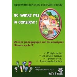 Ne mange pas la consigne, dossier pédagogique Cycle 3