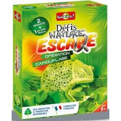 Défis Nature Escape - Opération camouflage
