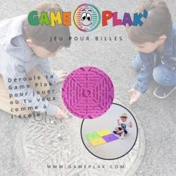 Tapis de billes Game Plak rose