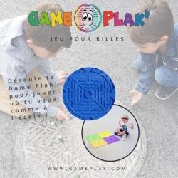 Tapis de billes Game Plak bleu