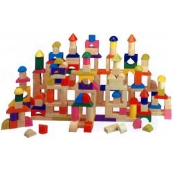 Construction duo (200 pièces en bois)