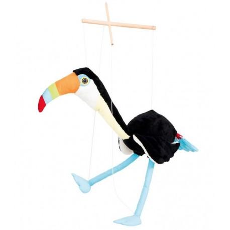 Marionnette géante Toucan Toni