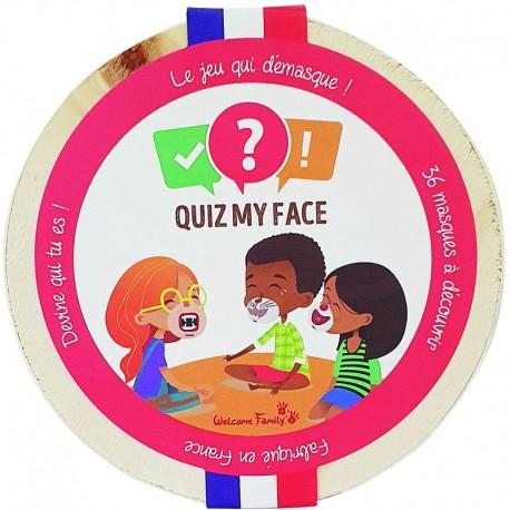 Quiz my face