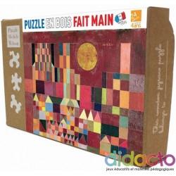 Puzzle Château et Soleil, de Paul Klee