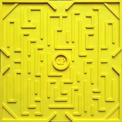 Tapis de billes Game Plak jaune