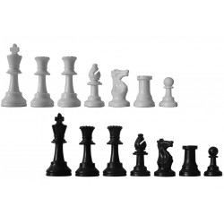 Pièces d'échecs 97mm