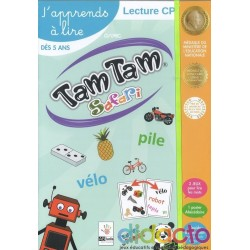 Tam tam Safari - Coffret CP