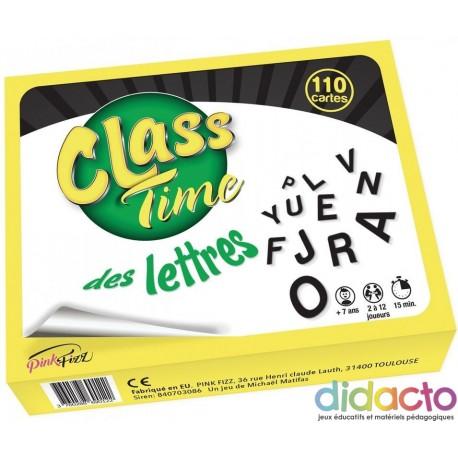 Class Time des lettres