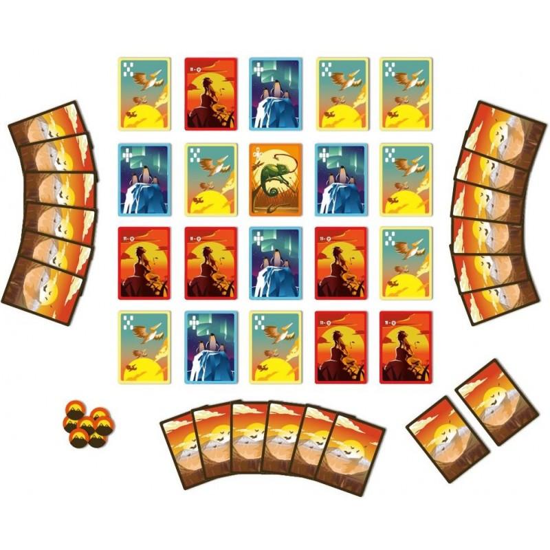 Animix park - Jeu de cartes et de placement tactique. Blue ...