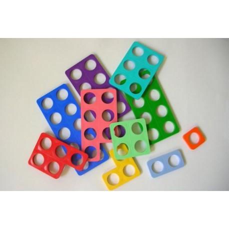 Numicons - Formes de 1 à 10