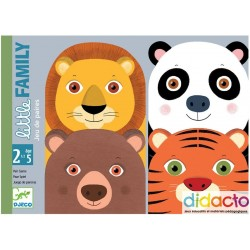 Lot des jeux de cartes Little de Djeco