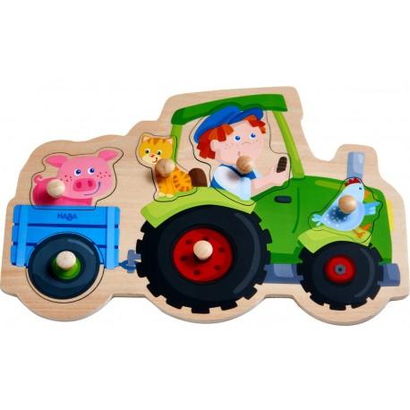 Puzzle Balade en tracteur