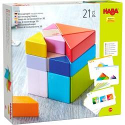 Jeu d'assemblage en 3D Cube Tangram