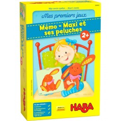 Mes premiers jeux – Mémo – Maxi et ses peluches