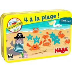4 à la plage!