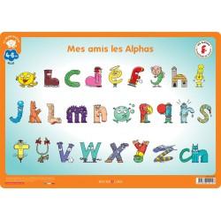 """Mon Sous-Main Des Alphas """"Déclic Lecture"""""""