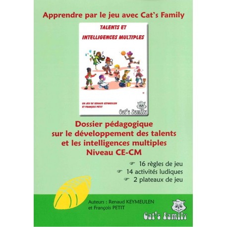 Talents et Intelligences Multiples - Dossier pédagogique CE-CM