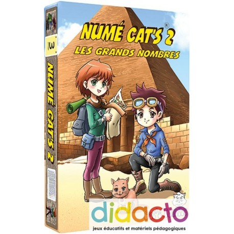 Numé Cat's II - Les grands nombres