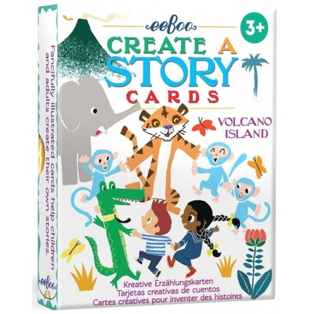 Story cards - Ile volcanique