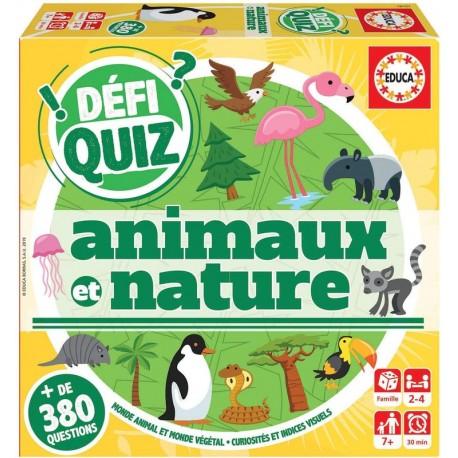 Défi quiz - Animaux et nature