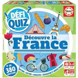 Défi quiz - Découvre la France