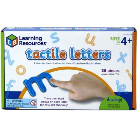 Lettres tactiles