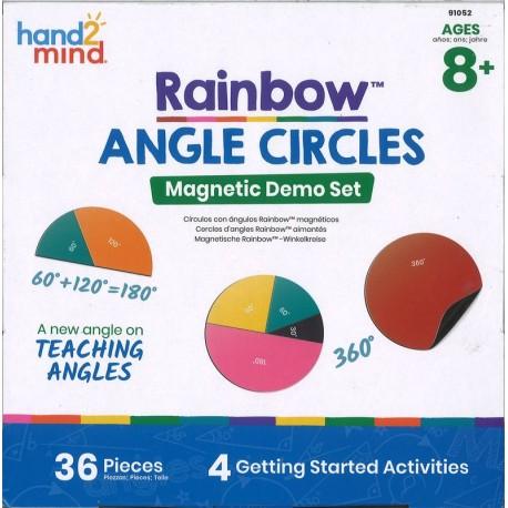 Angles en cercle magnétiques XL