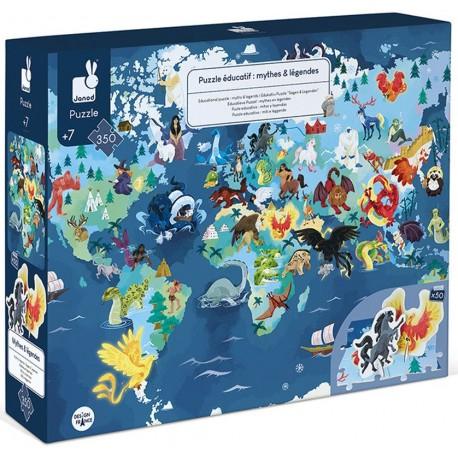 Puzzle éducatif géant Mythes et Légendes