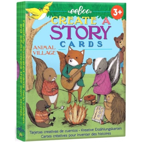 Story cards - Village des animaux