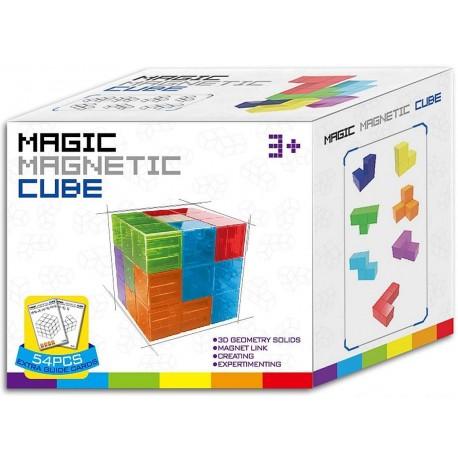 Magic magnetic cube