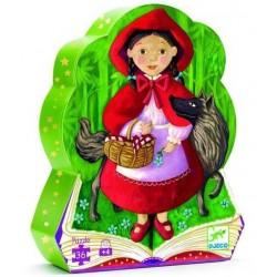 Puzzle conte: le petit chaperon rouge