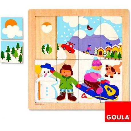 Puzzle saison: l'hiver