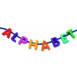 Perles alphabet majuscules