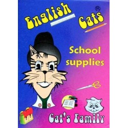 English Cats - School supplies