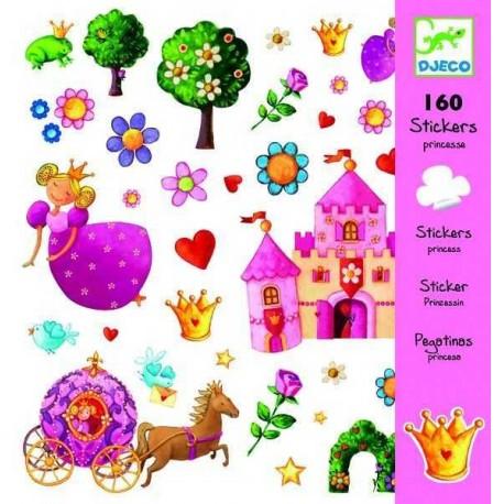 Stickers princesses